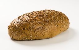 Whole wheat bread with sunflower seeds Stock Photo