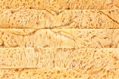 Whole wheat bread texture Royalty Free Stock Photos