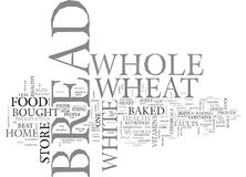 Whole Wheat Bread V White Bread Which One Will Prevail Word Cloud. WHOLE WHEAT BREAD V WHITE BREAD WHICH ONE WILL PREVAIL TEXT WORD CLOUD CONCEPT Stock Photos