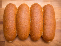 Whole wheat buns Royalty Free Stock Photo