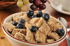 Whole wheat cereal Royalty Free Stock Photo