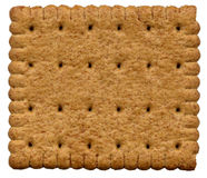 Whole-wheat cookie Stock Images