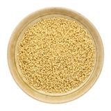 Whole wheat couscous Royalty Free Stock Photo