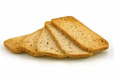 Whole wheat crackers Stock Image