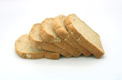 Whole wheat grain bread royalty free stock images