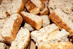 Rusks background Royalty Free Stock Images
