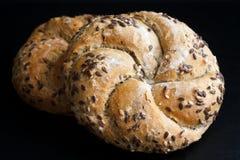 Whole wheat kaiser rolls. Stock Image