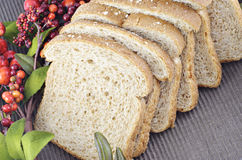 Whole Wheat Loaf Bread Stock Photography
