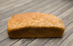 Whole Wheat Loaf of Bread Royalty Free Stock Images