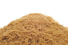 Whole wheat noodles Royalty Free Stock Photography