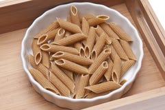 Whole Wheat Pasta Royalty Free Stock Image