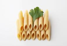 Whole wheat pasta Royalty Free Stock Photos