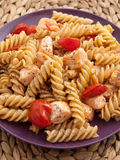 Whole wheat pasta Stock Photography