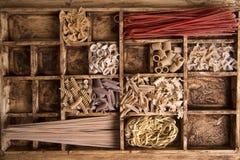 Whole wheat pasta Royalty Free Stock Photography