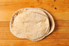 Whole wheat pita bread Stock Image