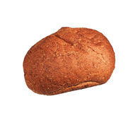 Whole wheat roll Stock Image
