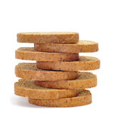 Whole wheat rusks Stock Images