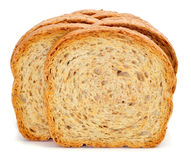 Whole wheat rusks stock image