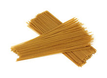 Whole wheat spaghetti Royalty Free Stock Photography