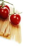 Whole wheat spaghetti Royalty Free Stock Photos