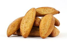 Whole wheat sub rolls Stock Photography