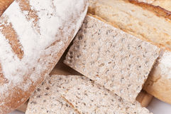 Whole wheat variety Stock Photos