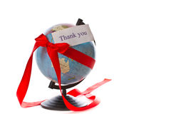 The whole world as a gift Royalty Free Stock Photography