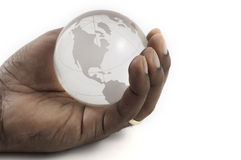 Whole World in Hand Royalty Free Stock Photo