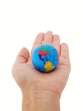 The whole world in your hands Stock Photos