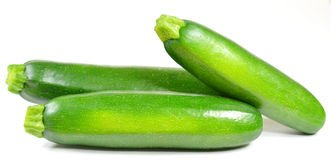 Whole zucchini royalty free stock images