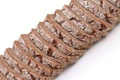 Wholegrain τεμαχισμένο ψωμί Στοκ Φωτογραφία