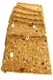 Wholegrain bread. On white background Stock Photo