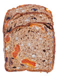 Wholegrain bread with dried fruits Royalty Free Stock Photography