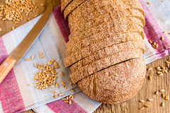 Wholegrain bread Royalty Free Stock Images
