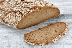 Wholegrain brood Stock Afbeelding