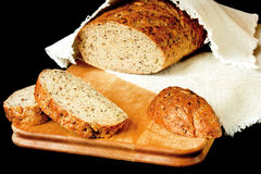 Wholegrain brood Royalty-vrije Stock Foto's