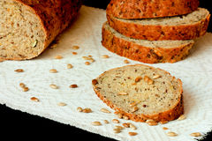 Wholegrain brood Stock Foto's