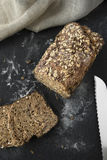 Wholegrain brood royalty-vrije stock foto