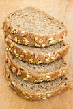 Wholegrain brood Stock Fotografie
