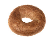 Wholegrain Brown Bagel Stock Images