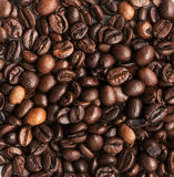 wholegrain coffee beans texture background Stock Photo