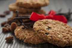 Wholegrain Cookies Stock Photo