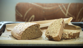 Wholegrain healthy bread for every day Royalty Free Stock Photography