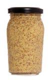 Wholegrain mustard Stock Photography