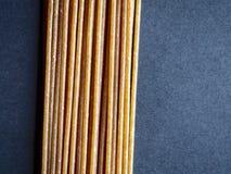 Wholegrain pasta arkivbild