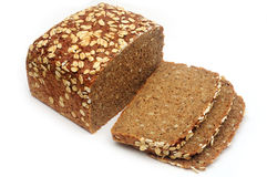 Wholegrain rye bread Stock Image