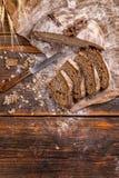 Wholegrain rye bread Stock Photos