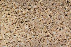 Wholegrain Rye Bread Texture. Detailed look at wholegrain rye bread texture royalty free stock image