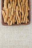 Wholegrain sticks Stock Photo