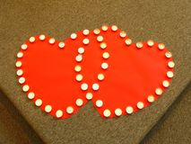 hearts connection Stock Photo